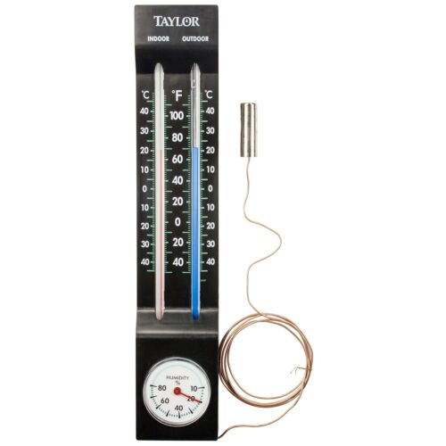 Taylor 5329 Indoor And Outdoor Thermometer