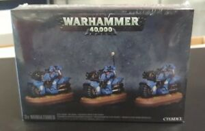 Warhammer 40K Space Marine Bike Squad 48-11