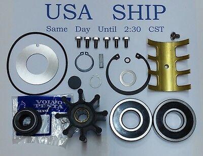 Volvo Penta D6 Raw Water Sea Pump Service Kit OEM Parts 21380890 3589907