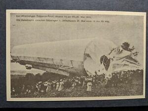 ZEPPELIN-Airship-Aviaton-Cover-unused-postcard