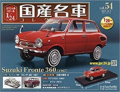 1 24 Précautions échelle des voitures japonaises collection Vol.54 SUZUKI Fronte dans 360 1967
