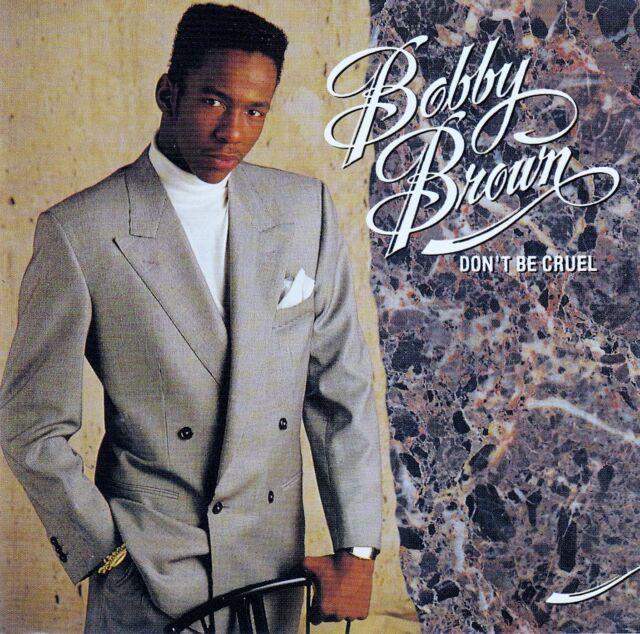 BOBBY BROWN : DON'T BE CRUEL / CD (MCA RECORDS MCD 03425 / DMCF 3425)