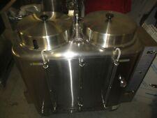 Curtis Ru 1000 35 10 Gal High Volume Brewer Coffee Urn With 2 Tanks 120v