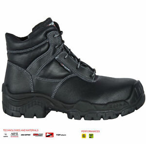 90940e54c69 Details about NEW MENS COFRA LEATHER SAFETY S3 COMPOSITE TOE CAP WORK BOOTS  HIKER SHOES UK SZ