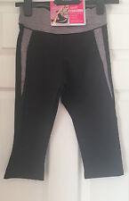 Marks & Spencer Sports Gym Slim Tummy Control CROPPED Leggings Size 8 - 10