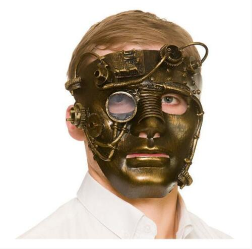 New Deluxe Robot Steampunk Masque Effrayant si-Fi Déguisement Halloween Accessoire
