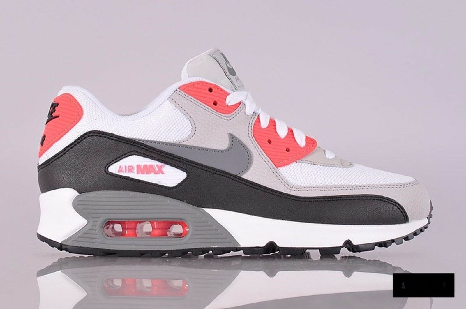 Nike Air Max 90 Essential Mens Sz 10.5 537384-108 White/Cool Grey/Neutral Grey Comfortable and good-looking