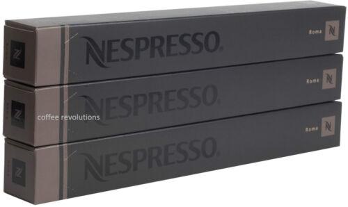30 nouveau nespresso roma dosettes capsules intenso gamme uk