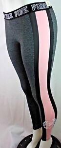 Sp113 Xs Graphique Leggings Rose Victoria's Plat Secret Neuf Yoga Taille AwzOq