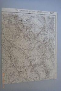 Messtisch Feuille Nº 5247 Nassau Reichenau Schönfeld Holzhau Cämmerswalde/85-afficher Le Titre D'origine