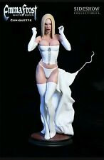 Sideshow Collectibles  Emma Frost White Queen Comiquette Marvel Xmen Statue