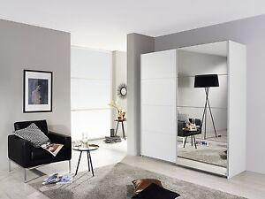 Camera armadio 2 ante scorrevoli bianco/specchio 181 cm | eBay