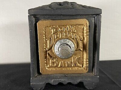 Deposit Bank Combination Lock Black