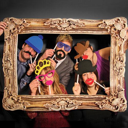 Fotografía de cabina de fotos selfie Accesorios novedad vestido de fantasía Fiesta Boda Regalo de la diversión