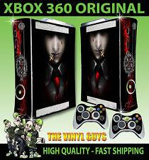 XBOX 360 ORIGINAL SHAPE ALUCARD HELLSING 001 VAMPIRE STICKER SKIN & 2 PAD SKINS