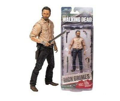 AMC THE WALKING DEAD RICK GRIMES ACTION FIGURES DISPLAY FIGURINES MCFARLANE TOY