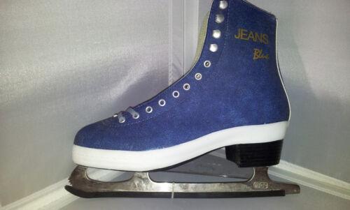 Larsen Jeans blau Eiskunstlaufschlittschuhe Gr 41 Schlittschuh