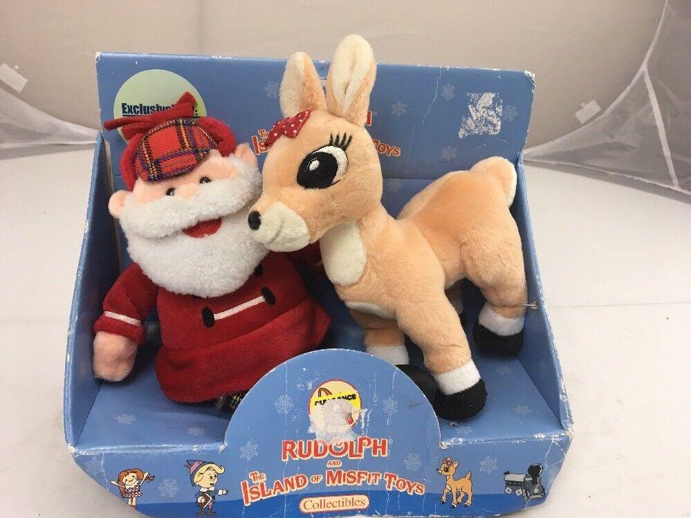 Santa & Clarice Plush Stuffed Animal Rudolph and the Island of Misfit Toys