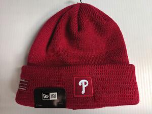 41fdd71a9 Details about Philadelphia Phillies New Era Knit Hat 19 Sport Clubhouse  Beanie Stocking Cap