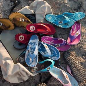 GUMBIES-Zehentrenner-Unisex-verschiedene-Muster-Bunt-Sandalen-aus-Australien