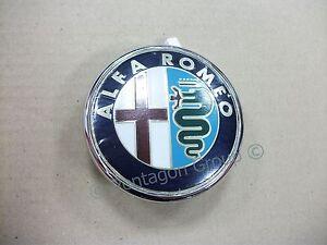 neuf d 39 origine alfa romeo brera spider coffre badge embl me ebay. Black Bedroom Furniture Sets. Home Design Ideas