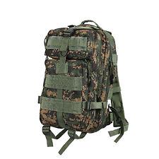 medium transport pack backpack military style woodland digital camo rothco 2559