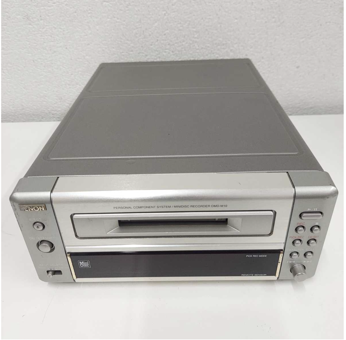 DENON DMD-M10 MD Deck From Japan Used