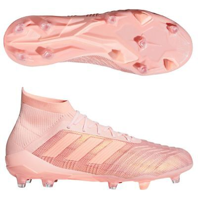 lava Frase Nadie  ADIDAS Predator 18.1 FG ROSA Scarpe da calcio | eBay