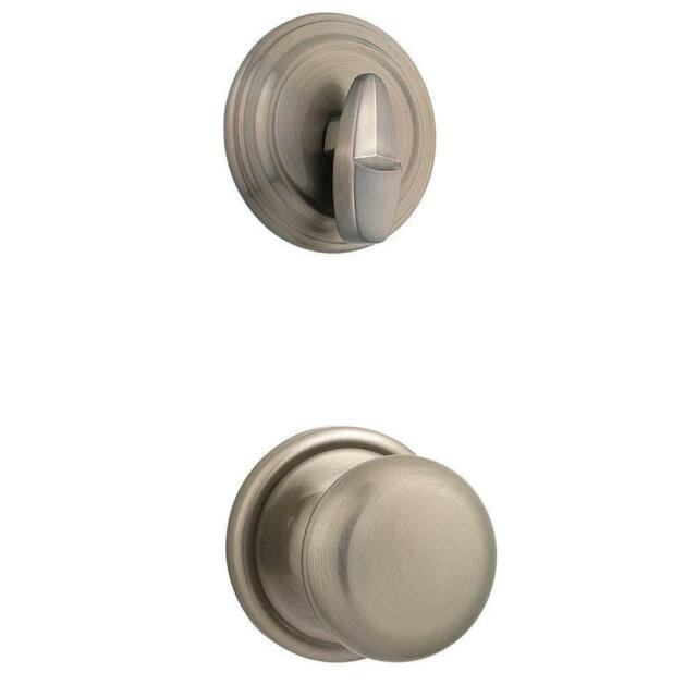 KWIKSET 966H 15A BBPKG HANCOCK SINGLE CYLINDER INTERIOR PACK ANTIQUE NICKEL  $49