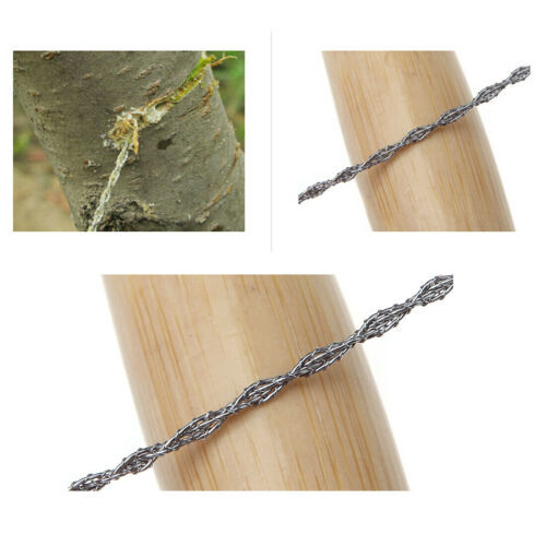 Wire Saw Ring Scroll Useful Outdoor Travel Camping Emergency Survival Hand Tools