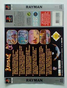 * Retour Inlay Seulement * Rayman Dos Inlay Ps1 Psone Playstation-afficher Le Titre D'origine Bas Prix