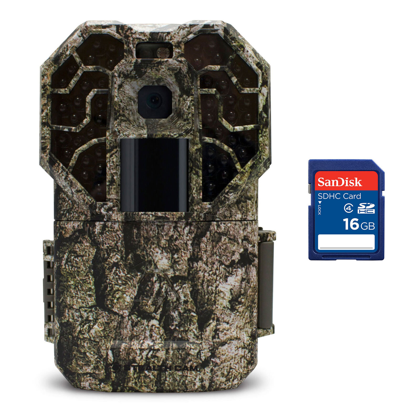 Stealth Cam G  Series Camouflage Wildlife Hunting Trail Camera + 16GB SD Card  first-class quality