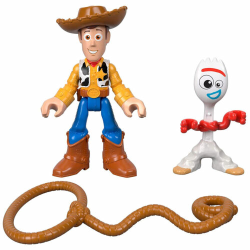 Forky and Woody Figures *BRAND NEW* Imaginext Toy Story 4