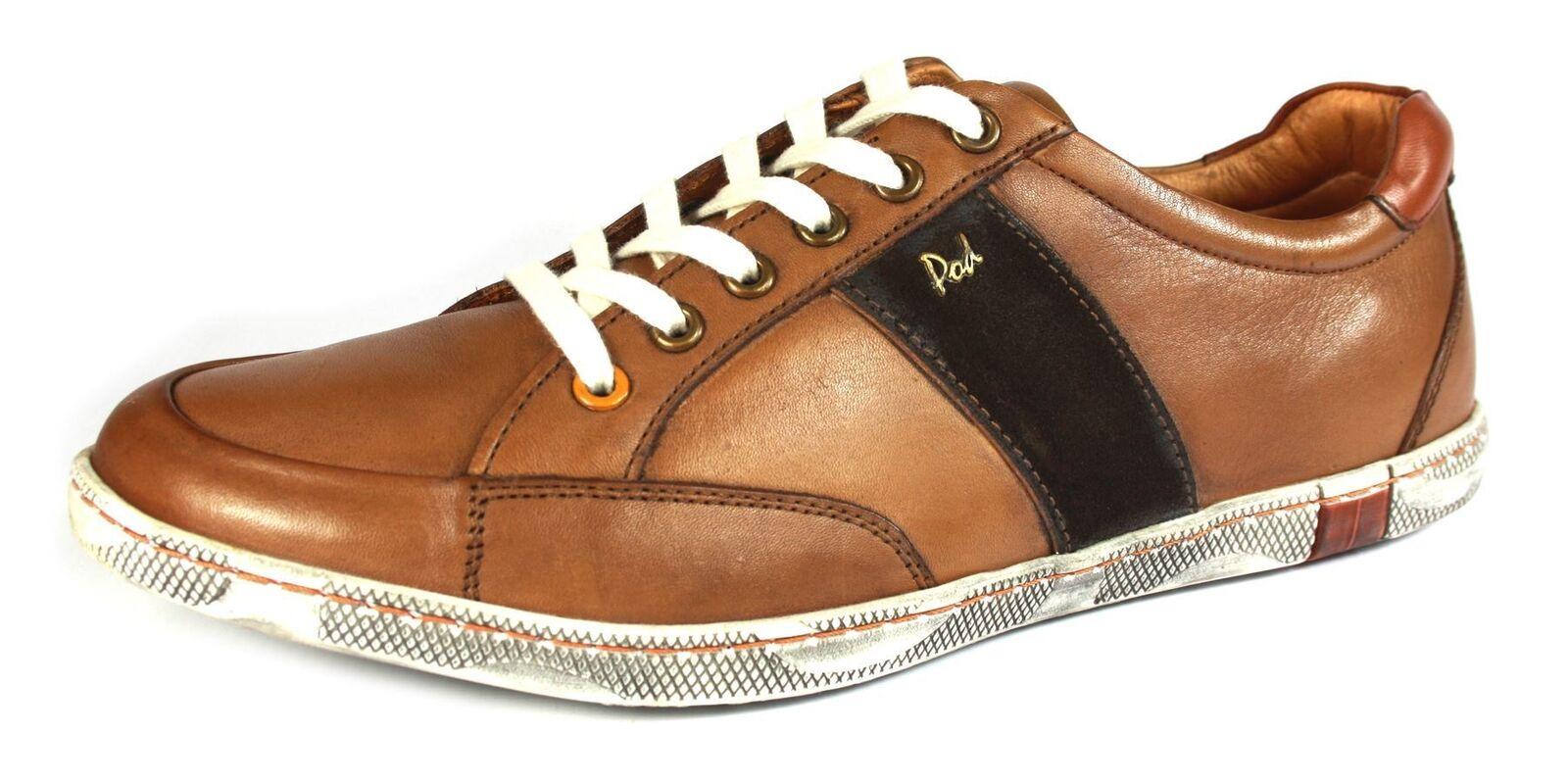POD lacci Kyle marroncino casual con lacci POD scarpe in pelle Uomo formatori b5f0a9