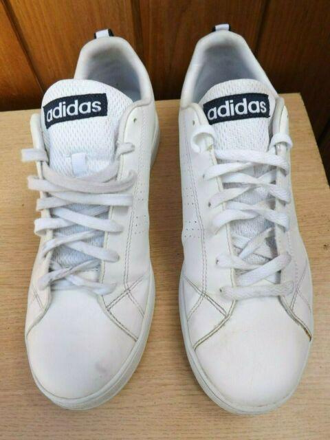 Adidas Neo Cloudfoam Advantage Clean Men's Casual White Shoes F76598 UK11 EU46