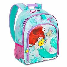 bb6f2769a3e Disney Store Ariel Backpack School Book Bag Little Mermaid Princess  Flounder NEW