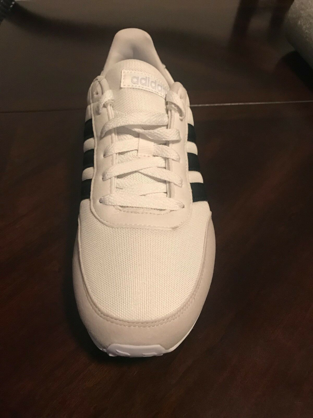 Women's Adidas Adidas Adidas V Racer 2.0 W White Beige Black Running shoes Size 10 NEW DB0424 b381a4