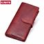 KAVIS-Genuine-Leather-Women-Wallet-Female-Long-Clutch-Lady-Walet-Portomonee-Rfid thumbnail 1
