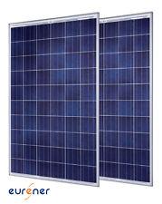 2 X Panneaux solaires 250W 24V polycristallin marque européenne Eurener