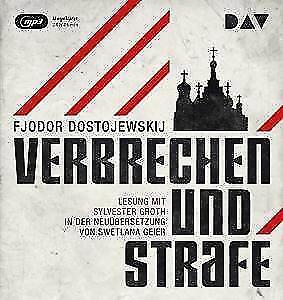 1 von 1 - Verbrechen und Strafe Fjodor Dostojewskij MP3 CD NEU & OVP