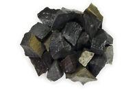 2 lbs Wholesale Black Stripe Jasper Rough Stones - Tumbling Tumbler Rocks, Reiki