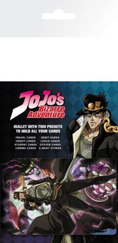 JoJo/'s Bizarre Adventure Stardust Crusaders Travel Holder ID Card Holder