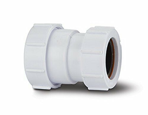 40 42 43mm 32 34 36mm Joiner Coupling Compression Multifit Waste Pipe Join