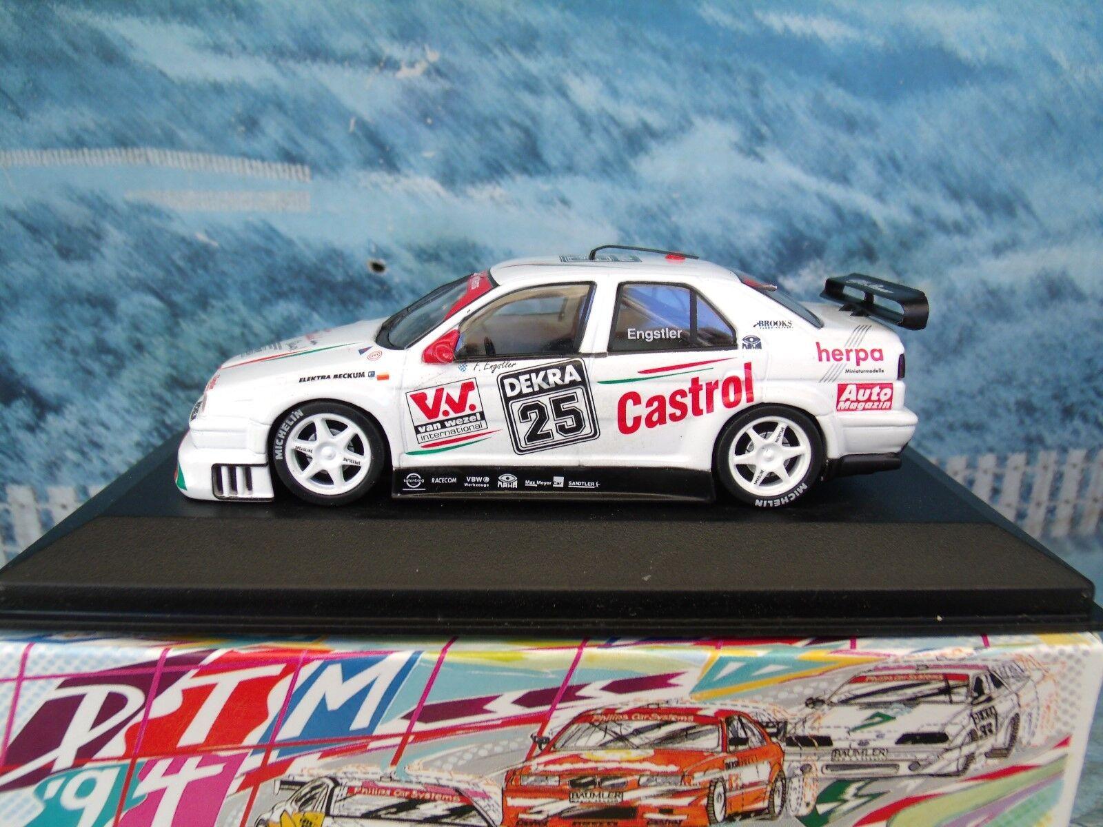 1 43 Minichamps Minichamps Minichamps   Alfa romeo 155  V6 TI DTM '94 905d45