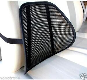 Image Is Loading Black Mesh Lumbar Back Brace Support Office Home