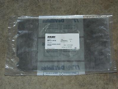 DEVILBISS AUTOMOTIVE REFINISHING MPV-44-K10 AIR VISOR CVR KIT OF 10