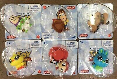 Toy Story 4 Movie *6 MINIS* Figure Woody Bullseye Ducky Bunny Buzz Jessie Easter
