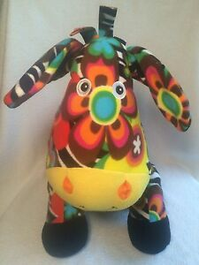 Melissa And Doug Plush Zebra Zelda Beeposh Colorful Stuffed Animal