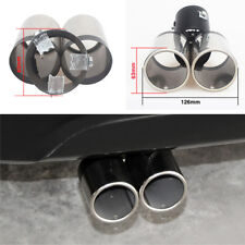 PolarLander 1pc Exhaust Tailpipe Tail Pipe Rear Muffler Stainless Steel End Trim