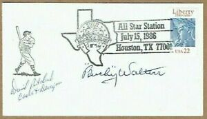BUCKY-WALTERS-MLB-BASEBALL-PITCHER-ORIGINAL-AUTOGRAPH-ON-ALL-STAR-GAME-COVER